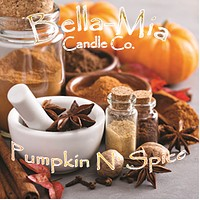 Pumpkin N' Spice Natural Hand Poured Soy Candles