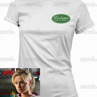 Merlotte's Bar and Grill Work Uniform T-Shirt - true blood, tv tee shirt, mens gift, womens gift, vampires, horror tshirt,  sam, suki, bill,