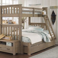 Crosspointe Twin over Full Bunk Bed