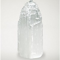 Selenite Crystal Tower - 8.5 oz - Spencer's
