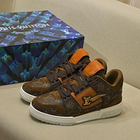 lv louis vuitton womans mens 2020 new fashion casual shoes sneaker sport running shoes 202