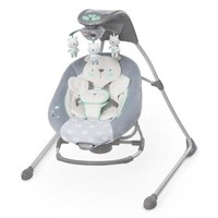 Newborn, Baby Cradle Musical Swing and Rocker with Night Light n Smart Technology