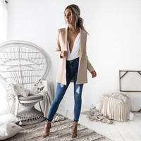 OL Women Suits Spring Autumn Formal Womens Business Suits Spring Autumn All-match Women Blazers Business Jackets Slim Long