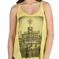 OBEY A Go-Go Melody Tank Top