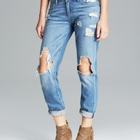 Paige Denim Jeans - Jimmy Jimmy Skinny in Clifton Destructed
