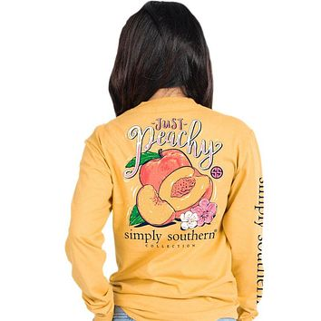 Just Peachy - SS - F20 - Adult Long Sleeve