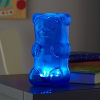Gummy Bear Nightlight (Blue) in Nightlights | The Land of Nod