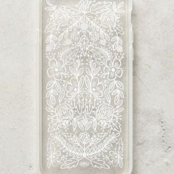 Etched Glass iPhone 6 Case by Rifle Paper Co. Clear One Size Tech Essentials