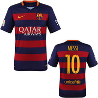 Messi Jersey Barcelona Youth, Boys and Kids Sizes