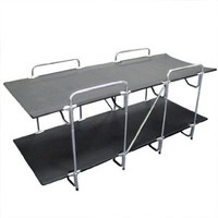 Two Person Portable Camping Bunk Bed Cot 2 Person Folding Cot