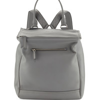 Givenchy Pandora Calfskin Leather Backpack, Pearl Gray