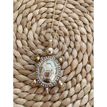 Turtle Point Necklace