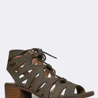 Low Heel Gladiator Sandal