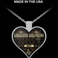 """Life"" Heart Pendant Necklace for Girlfriends - Best Gifts for Girlfriends"