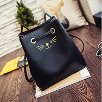 Lovely Cartoon Cat Face Cute Handbag Tote Large Capacity Shoulder Bags For Women is Worth Buying - NewChic Mobile.