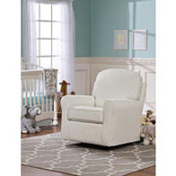 Lily Upholstered Glider - Ivory