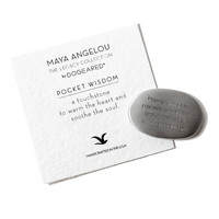 Maya Angelou Pocket Wisdom, Hoping For The Best... | Dogeared