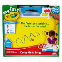 Crayola My First Color Me-a-Song Set