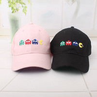 Summer Gift Retro Embroidery Baseball Cap Unique Casual Hat a12454