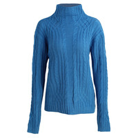 Women Turtleneck Sweater Twist Stretchy Slim Knitted Jumper Top Long Sleeve Casual Sweaters And Pullovers