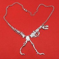 Necklace - Halloween Dinosaur Necklace