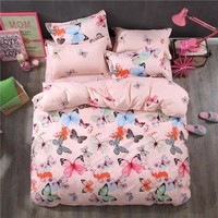 New Style Bedding Sets Bed Sheet Pillowcase & Duvet Cover Sets Bed Sheet,king Queen Full Twin Size