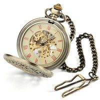 Victorian Web Pocket Watch