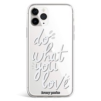 Do What You Love iPhone Case