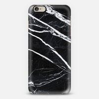 Black marble iPhone 6 case by Cëe   Casetify