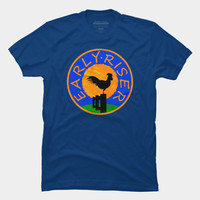 Early Riser T Shirt By Fringeman Design By Humans