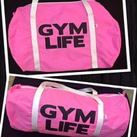 Gym Life - Gym Bag - Ruffles with Love - Womens Fitness