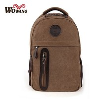 University College Backpack Men Male Canvas   Student School  Bags for Teenagers Vintage Mochila Casual Rucksack Travel Daypack W030AT_63_4
