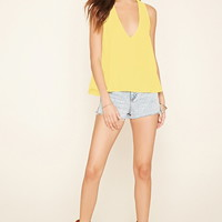 Plunging Cutout Top