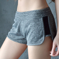 woman short fitness   shorts dry female stretch short pants sexy mini slim sweatpants workout clothes
