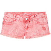 ALMOST FAMOUS Novelty Wash Womens Denim Shorts