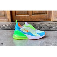 NIKE AIR MAX 270 Tide brand mesh breathable half palm cushion sports shoes #2