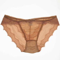 Luxe Eyelash Panty in Blush