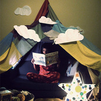 Love Shack: Creating a Blanket Fort for Valentine's Day | Apartment Therapy San Francisco