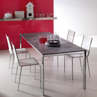 T275 Sunny Extendable Dining Table by Ozzio - 138
