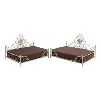 Set of Two Elegant and Comfortable Pet Beds