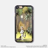 Where The Wild Things Are Free Shipping iPhone 6 6 Plus case iPhone 5s case iPhone 5C case iPhone 4 4S case Samsung galaxy Note 2 Note 3 Note 4 S3 S4 S5 case 357