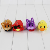 5 Five Nights at Freddy's Soft Stuffed Plush Doll car hanger FNAF Pendant Freddy Fazbear Bear Fox