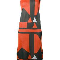 ODD. New York | Arthur Arbesser - Graphic Knit Midi Dress