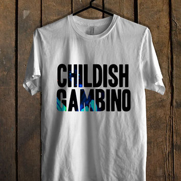 Childish Gambino Logo T Shirt  Mens T shirt and Womens T shirt *