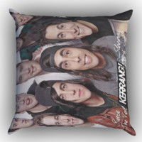 Pierce The Veil and Sleeping With Sirens x0442 Zippered Pillows  Covers 16x16, 18x18, 20x20 Inches