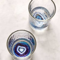 Geode Bottom Glasses Set - Urban Outfitters