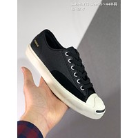 CONVERSE Jack Purcell cheap mens and womens Fashion Canvas Flats Sneakers Sport Shoes