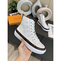 LV Louis Vuitton  Women Casual Shoes Boots fashionable casual leather