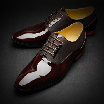Tadi Tap business men leather shoes new