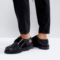 H by Hudson Buckle Leather Shoe at asos.com